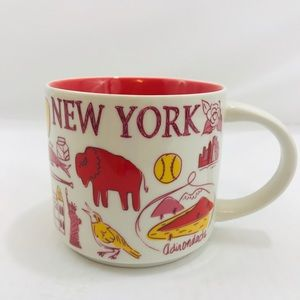 Starbucks 2017 Been There New York Collectible Mug